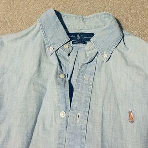 Ralph Lauren men's chambray button up
